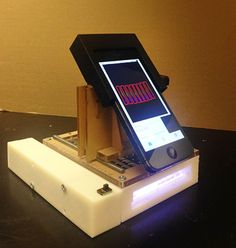 This smart portable phone laboratory detects cancer. (Image credit: WSU)