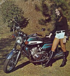 Suzuki GT 750 'water buffalo' (BIKE and RIDER - March 1972)