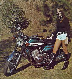 Suzuki GT 750 'water buffalo' (BIKE and RIDER - March 1972)