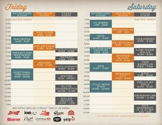 stage schedule design google search