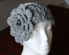Heather Grey Simply Soft Earwarmer/Headband by SnugableTouches, $10.00