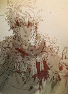 art by Feiqiuxuan Manga Anime, Anime Art, Me Me Me Anime, Anime Guys, Character Concept, Character Design, Servant Of Evil, Silver Samurai, Gintama