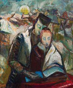 """Serger, Frederick (1889-1965.) """"Der Talmud, Verkauft."""""""