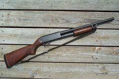 Ithaca model 37 pump shotgun, another American classic, one of the best shotguns… Weapons Guns, Guns And Ammo, Survival Weapons, Ithaca Shotgun, Pump Action Shotgun, Tactical Shotgun, Shooting Gear, Firearms, Shotguns