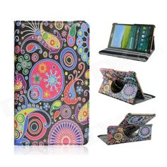 Stylish Cartoon Pattern PU Leather Case for Samsung Galaxy Tab S 8.4 T700 - Multicolored Price: $11.91