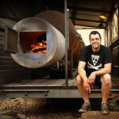 Aaron Franklin of Franklin Barbecue, Austin. (Tom Fox/The Dallas Morning News)