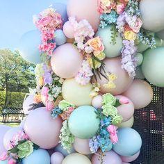 Balloon Bouquet, Balloon Garland, Balloon Decorations, Rainbow Balloon Arch, Baby Balloon, Balloon Wall, Balloon Arrangements, Balloon Flowers, Baby Shower Balloons