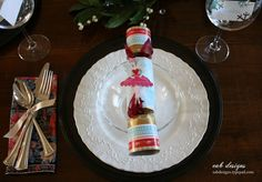 Our Christmas Table Setting