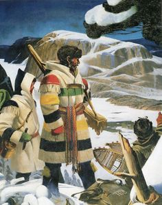 The History of the Hudson's Bay Point Blanket Canadian History, Canadian Art, Native American History, Native American Indians, Canadian Things, Canadian Symbols, Mountain Man, Hudson Bay Blanket, Bay Point