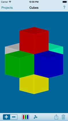 Think 3D Free - rotate and view 3D shapes