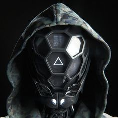 Find images and videos about cyber, cyberpunk and cyberculture on We Heart It - the app to get lost in what you love. Futuristic Helmet, Futuristic Armour, Futuristic Art, Futuristic Technology, Cyberpunk Kunst, Cyberpunk 2077, Cyberpunk Tattoo, Science Fiction, Robot Design