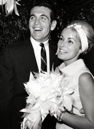 Actress Janet Leigh and stockbroker Robert Brandt wedding in 1962.  They were married until her death in 2004.  She was previously married to actor Tony Curtis (1951-1962).