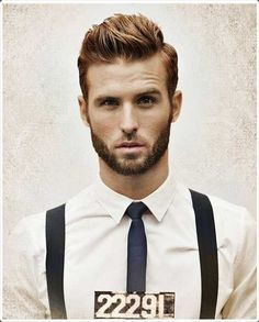 Brushed up hairstyle is quite classy and charming.