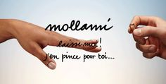 #Mollami >laisse moi! j'en #pince pour toi... La #bague pour se quitter.  The #ring to dump. Mollami = Leave me (molla=spring). Laisse-moi! j'en pince pour toi... = leave me! I have a crush on you...  #or #coeurbrisé #gold #argent #brokenheart #bijoux #love #hands I Have A Crush, Your Crush, Having A Crush, Quitter, Or, Tattoo Quotes, Crushes, Spring, Silver