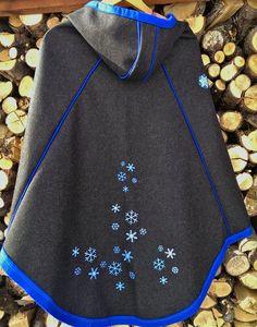ULLAPRODUKTER : Luhkka Cape, Cold Shoulder Dress, Detail, Sewing, Folk, Inspiration, Dresses, Crafts, Fashion