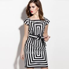 Product Name: LD5259 Front Knot Tie Stripe Pencil Dress Click On Link To View This Product : http://gurusing.sg/?post_type=product&p=12836. We Have Publish More Products And Special Offer Are Going On Our Website GuruSing. Hurry Enjoy Up To 80% Discounts......