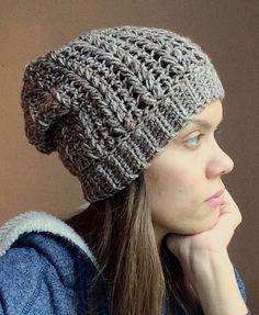 The Ivy Beanie | Crochet Pattern | Crochet Hat Pattern | Crochet Beanie Pattern | Easy Crochet Pattern | Beginner Crochet Pattern