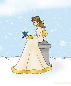 Winter Belle by MandiPope.deviantart.com on @deviantART