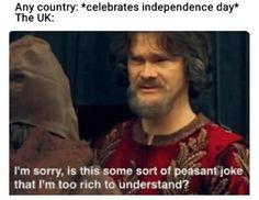 Memes In Real Life, Memes Of The Day, Life Memes, North Dakota, Funny Videos, British Memes, British Humour Funny, British History, British Comedy