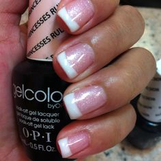 OPI Gel Color: Princesses Rule! Wearing this now, love it! Love the name and…