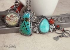 Handmade Sterling Silver Jewelry by Amy Estelle Metalworks