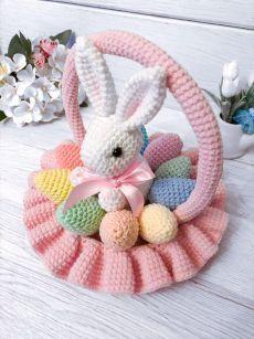 Amigurumi Doll Pattern, Crochet Doll Pattern, Crochet Motif, Crochet Dolls, Easter Crochet, Crochet Crafts, Crochet Projects, Crochet Animal Patterns, Stuffed Animal Patterns
