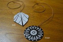 #DIY plastic jewelry