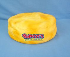 RARE RARE RARE Huge Popeyes Chicken & Biscuits Foam Biscuit Hat Advertising