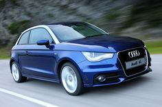 Audi A1 blue #want