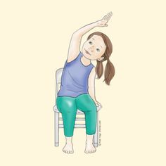 74 Best Chair Yoga Images In 2018 Yoga Poses Yoga Exercises