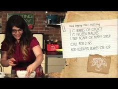 Newest SAVE THE KALES! vegan cooking show episode. Video diary of Vegetarian Summerfest, sweet + savory sandwiches, raw berry pie, and veggie-lovin' graphic design. EPISODE 3/half hour show