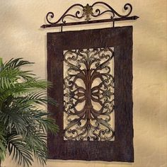 Tuscan Window, Tuscan Wall Grille, Fleur De Lis Wall Panel. Tuscan Decor Retailer Since 1996. Free Shipping. Guaranteed Lowest Prices. BellaSoleil.com Tuscan Decor. #Tuscandecorstyle