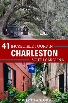 As one of the oldest cities in the country, Charleston, South Carolina is full of history and charm. With so much to see and do in the Holy City, a tour is a great way to get an introduction into what makes this city so special. Whether you are interested in exploring by boat, foot, or horse-drawn carriage this list has tours that are sure to please your family! Top Family Vacations, Family Travel, Usa Travel Guide, Travel Usa, Charleston Tours, Sailing Lessons, South Carolina Vacation, Ghost Tour, Us Road Trip