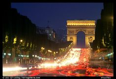 Champs Elysees is considered by the French to be the most beautiful avenue in the world. Lined up with cinemas, cafes, and luxury stores, it is one of the most expensive strip of real estate anywhere. Paris - photo by QT Luong from http://terragalleria.com