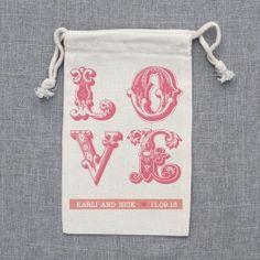 Favor Bags Stamp. Cute