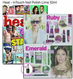 inTouch's Lime in the coconut exposure in Heat Magazine Lee Ann, Beauty Industry, Funeral, New Art, Lime, Coconut, Nail Polish, Magazine, Let It Be