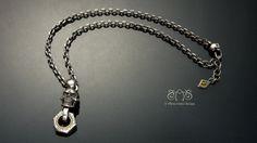 Piston skull necklace| Let's Ride  Silver Accessories https://www.facebook.com/2Abnormalsides