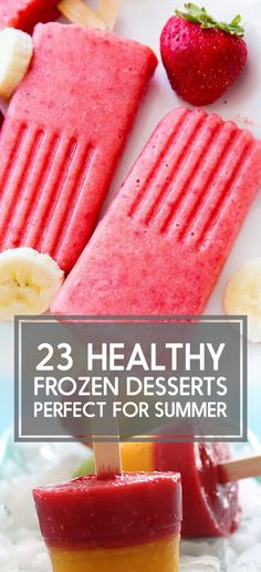23 Frozen Desserts Under 200 Calories That Are Perfect For Summer @buzz