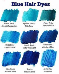 Trendy Hair Color Blonde Blue Tips Ash Blue Hair, Blue Tips Hair, Hair Dye Tips, Dyed Hair Blue, Hair Dye Colors, Ombre Hair Color, Blonde Color, Cool Hair Color, Blue Ombre