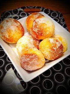 Beignets au four Beignets, Bon Dessert, Coffee Dessert, Churros, Gourmet Desserts, Dessert Recipes, Light Desserts, Baked Donuts, Biscuit Cookies