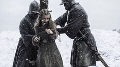 """(Open RP) (Be The Head Guard) I had just been taken from my town because they said I was the only one worthy of serving you, the head of the guard. I was """"special"""" they said just like you....They made me trudge through the snow all the way to you, in chains, of course I didn't want to come, I wasn't going to cooperate"""