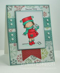 Snow Day by TreasureOiler - Cards and Paper Crafts at Splitcoaststampers