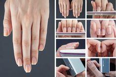Подробная инструкция по приданию формы ногтям