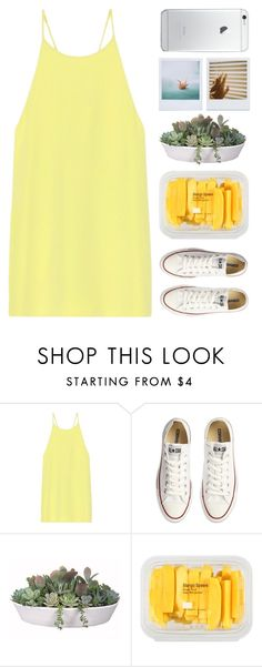 """#383"" by lost-in-a-daydr3am ❤ liked on Polyvore featuring TIBI, Converse, VesseL, MANGO, Polaroid, women's clothing, women, female, woman and misses"
