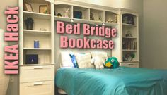 IKEA-Hack-Bed-Bridge-Bookcase