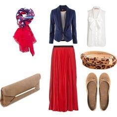 Red Maxi Skirts   Combination Ideas  6dd561db14038e45da9c309f698f05f5