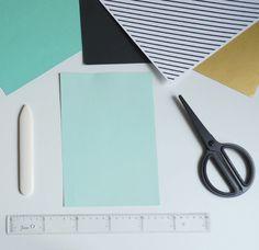 Hur en pappersdiamant blir till | Studio Äppel Päppel