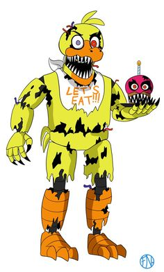 Nightmare Chica by FNAFNations