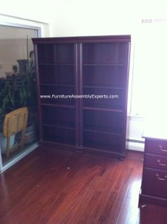 office depot bookcase assembled at loyola university campus baltimore by Furniture Assembly Experts® LLC - Call 2407052263