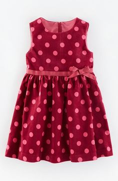 Free shipping and returns on Mini Boden 'Spotty' Velvet Fit & Flare Dress (Toddler Girls, Little Girls & Big Girls) at Nordstrom.com. Fun polka dots and a pretty grosgrain sash style a sleeveless party dress cut from lush velvet for a charming, old-fashioned look.